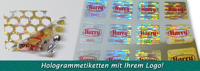 Herstellung Von Hologramm Aufkleber Und Hologrammetiketten